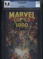 Marvel Comics #1000 CGC 9.8 Alex Ross cover
