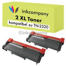 2 XXL TONER für BROTHER TN2320 L2340DW L2360DN L2365DW MFC-L2700DW L2720DW