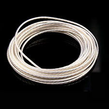 High purity silver plated OCC PTFE wire cable for HIFI audio DIY,24strands*0.47