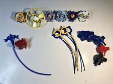 Gen 1 Vintage Beyblade Lot of 6 Beyblades + Left & Right Launchers (Dragoon, ..)