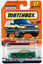 Matchbox #17 1999 Mustang Hardtop With MB 2000 Logo New On Card