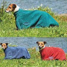 Weatherbeeta Comfortable Protective Towel Zip Up Warm Outdoor Walk Dry Dog Bag