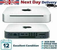 Apple Mac mini Intel Core i5 3rd-Gen 2.50GHz 8GB RAM 500GB HDD Late 2012 A Grade