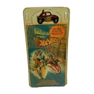 Heroes On Hot Wheels VHS With Exclusive Special Edition Baja Bug