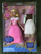 Htf! Disney Store Singing Cinderella Doll Set~Nib~Princess