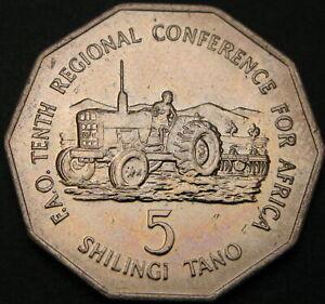 TANZANIA 5 Shilingi 1978 - FAO - aUNC - 1606 ¤