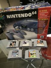 Boxed Nintendo 64 bundle with 5 Great Games and controller