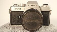 Yashica FR-2, FR-II with Yashica DBS 50mm F1.9 lens. Works and looks amazing