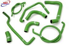 KAWASAKI ZX12R ZX 12 R 2000-2006 HIGH PERFORMANCE SILICONE RADIATOR HOSES GREEN