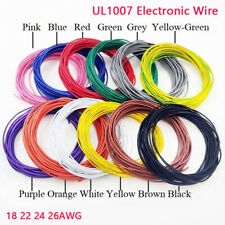 UL1007 Electronic Wire 18 22 24 26AWG PVC Insulated Tinned Copper Moisture-proof