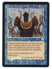MTG - Ordre du Patriarche EX FOIL French Onslaught Patriarch's Bidding