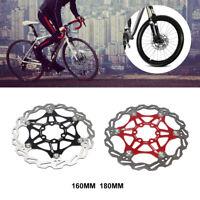 Edelstahl Mountainbike Bremsscheiben 160/180/203mm Schwimmrotor Fahrrad 6 Bolzen