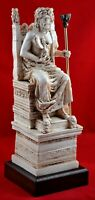 Zeus greek statue king of gods ruler of sky NEW Free Shipping Tracking
