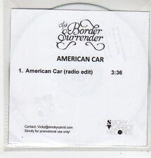 (FL14) The Border Surrender, American Car - DJ CD