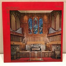 Max Smith 1969 Schantz Pipe Organ Grace United Methodist Church Atlanta GA LP