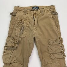 Vintage Polo Ralph Lauren (30x30) Tactical Military Army Canvas Brown Cargo Pant