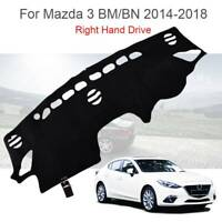 For Mazda 3 2014 - 2018 Dashmat Dash Mat Dashboard Cover Pad Protector