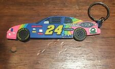 #24 JEFF GORDON Race Day Key Chain 1998 NASCAR Keychain Wheels Sports Group