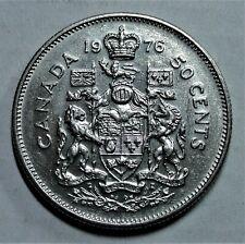 Kanada/ Canada 50 Cent 1976 Royal Canadian Coin - Elizabeth II - vz / xf