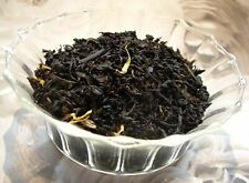 Tea Peach Ginger Loose Leaf Aged Import Black Tea Blend Pure Natural
