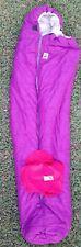 "The Northface Mummy Polyester Purple Sleeping Bag 92""x34"""