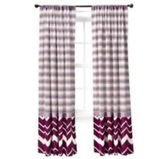 """One Missoni for Target Window Panel Curtain Exploded Floral 84"""" NIP"""