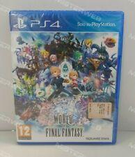 World of Final Fantasy PS4 NUOVO SIGILLATO ITA perfetto
