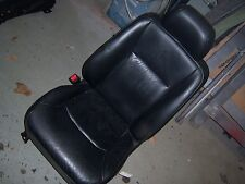 1998 Acura RL black leather driver left seat