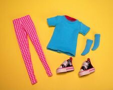 Handmade t-shirt leggins socks sneakers for pullip taeyang dal isul