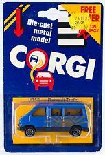 Vintage Corgi Junior Renault Trafic Van JB55 Great Britain 1984 New On Card