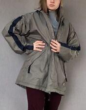 Nike Men s full zip windbreaker Rain jacket Size M Lined Vintage Retro Green 8b35f85a9