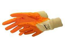 Silverline 282475 Open Back Interlock Nitrile Gloves One Size