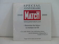 CD SINGLE ZOE KRAFT Special anniversaire Paris Match 1949 2009