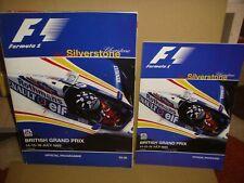 1995 BRITISH GRAND PRIX SILVERSTONE F1 FORMULA 1 RACEDAY PROGRAMME & TICKETS