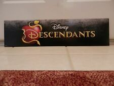 Store Display Sign Disney Descendants Double sided . Snow White Evil Queen apple