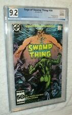 SWAMP THING # 38 PGX 9.2 GRADED 3RD APPEARANCE JOHN CONSTANTINE NOT 37 CGC CBCS