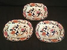 SINGLE OPEN VEGETABLE BOWL MASON'S IRONSTONE CHINA MANDALAY - 3 AVAILABLE