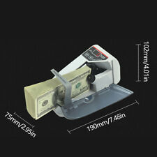 Bill Cash Banknote Counter Mini Handy Money Currency Counting Machine 999 Max