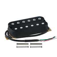 New One Electric Guitar Humbucker Pickup Double Coil Bridge Pickup Black Color