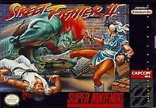 Street Fighter II 2 TWO (Super Nintendo Entertainment System) SNES GAME ONLY