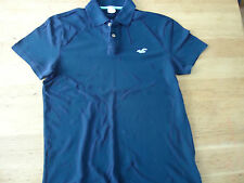 "HOLLISTER. MEN'S  POLO SHIRT DARK BLUE  CHEST 40"" SIZE M"