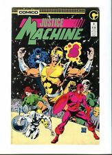 Justice Machine 3 . Comico 1987 -VF