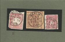 Preußen / BERLIN P. A. 5. HAMB. BHF. 1/5 73 auf GAA 1/2 Gr., 14/4. 70