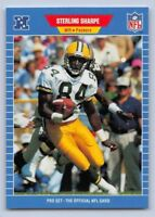 "1989  STERLING SHARPE  - Pro Set ""ROOKIE"" -Football Card - # 550 - G.B. PACKERS"