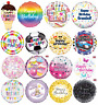 """18"""" Holographic Foil Helium Balloons Happy Birthday Balloon Party Decorations"""