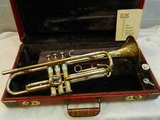 1958 Vintage F.E. Olds Special Tricolor Trumpet - Smooth Valves - Superb Player