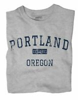 Portland Oregon OR T-Shirt EST