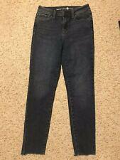 Womens MAX STUDIO High Rise Skinny Denim Ankle Jeans 8