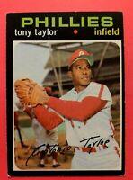 1971 TOPPS Card #246 Tony Taylor - Philadelphia Phillies