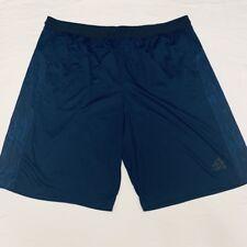 Adidas Climalite Navy Blue Athletic Basketball Shorts Mens 2XL XXL